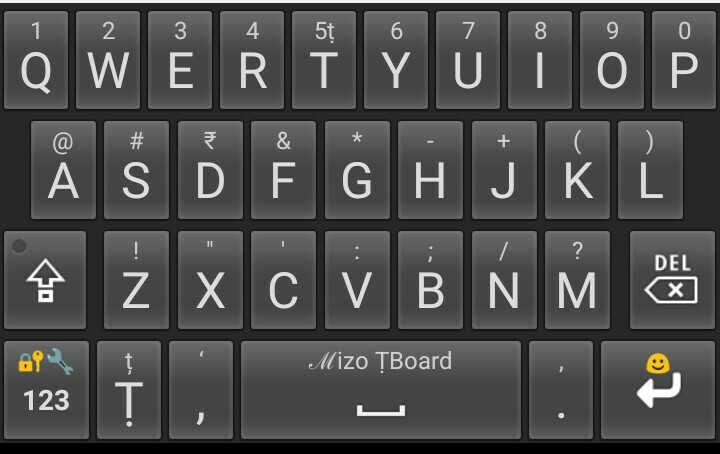 Mizo Keyboard- Mizo ṬBoard v2 0b download rawh le  | Mizo